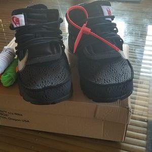 2df0d17c9812 Nike Shoes - Off-White Nike Air Presto Black Sz 10